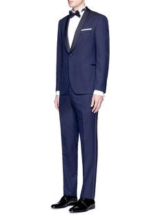 LardiniDot jacquard tuxedo suit