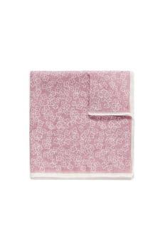 LardiniFloral print gauze pocket square