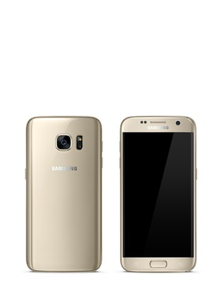 Samsung - Galaxy S7 32GB - Gold Platinum
