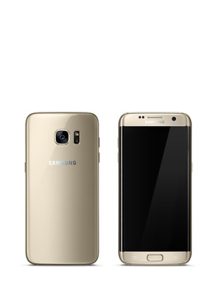 Main View - Click To Enlarge - Samsung - Galaxy S7 Edge 32GB - Gold Platinum