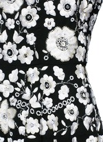 'Blossom' floral embroidery embellished prom dress