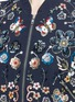 Detail View - Click To Enlarge - Needle & Thread - 'Butterfly Garden' floral embellished bomber jacket