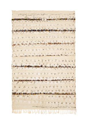 KHMISSA MOROCCO DESIGN-Medium vintage Berber wedding rug