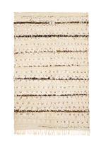 Medium vintage Berber wedding rug