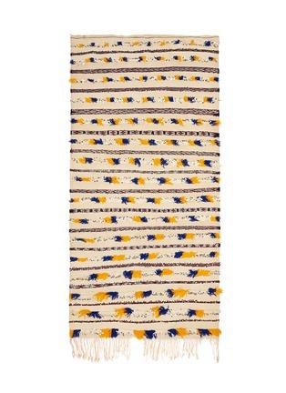 KHMISSA MOROCCO DESIGN-Large vintage Berber wedding rug runner