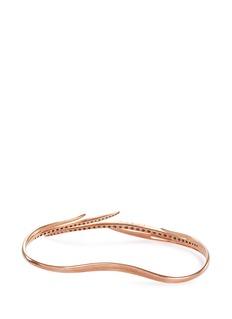 Cristinaortiz Diamond 9k gold cuff