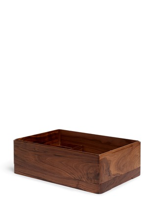 Tang Tang Tang Tang - Walnut wood storage box