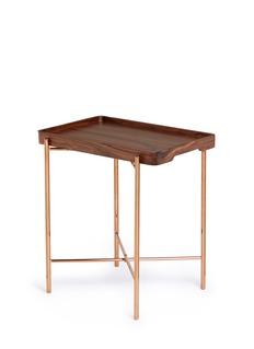 Tang Tang Tang TangWalnut wood folding side table