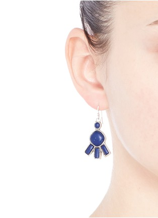 Figure View - Click To Enlarge - Philippe Audibert - 'Lozzi' lapis stone earrings
