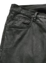 'Detroit' waxed denim slim fit jeans