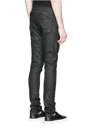 背面 - 点击放大 - DRKSHDW BY RICK OWENS - 涂层弹性棉料牛仔裤