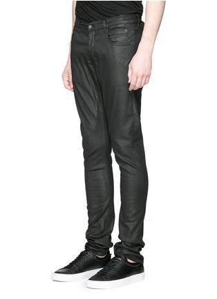 正面 -点击放大 - DRKSHDW BY RICK OWENS - 涂层弹性棉料牛仔裤