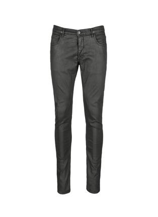 首图 - 点击放大 - DRKSHDW BY RICK OWENS - 涂层弹性棉料牛仔裤