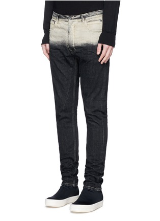 Front View - Click To Enlarge - Rick Owens DRKSHDW - 'Torrence' dégradé straight leg jeans