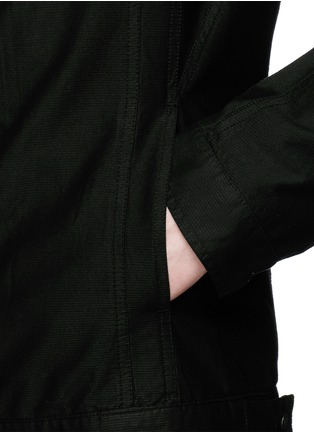Detail View - Click To Enlarge - Rick Owens DRKSHDW - 'Slave' cotton Cavalry twill jacket