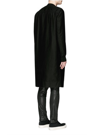 Back View - Click To Enlarge - Rick Owens DRKSHDW - 'Flight' bomber trench coat