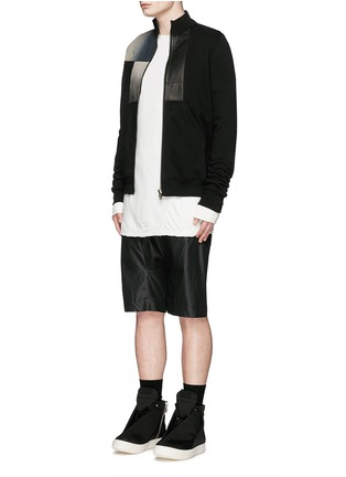 Figure View - Click To Enlarge - Rick Owens DRKSHDW - 'Hustler' double layer long sleeve T-shirt