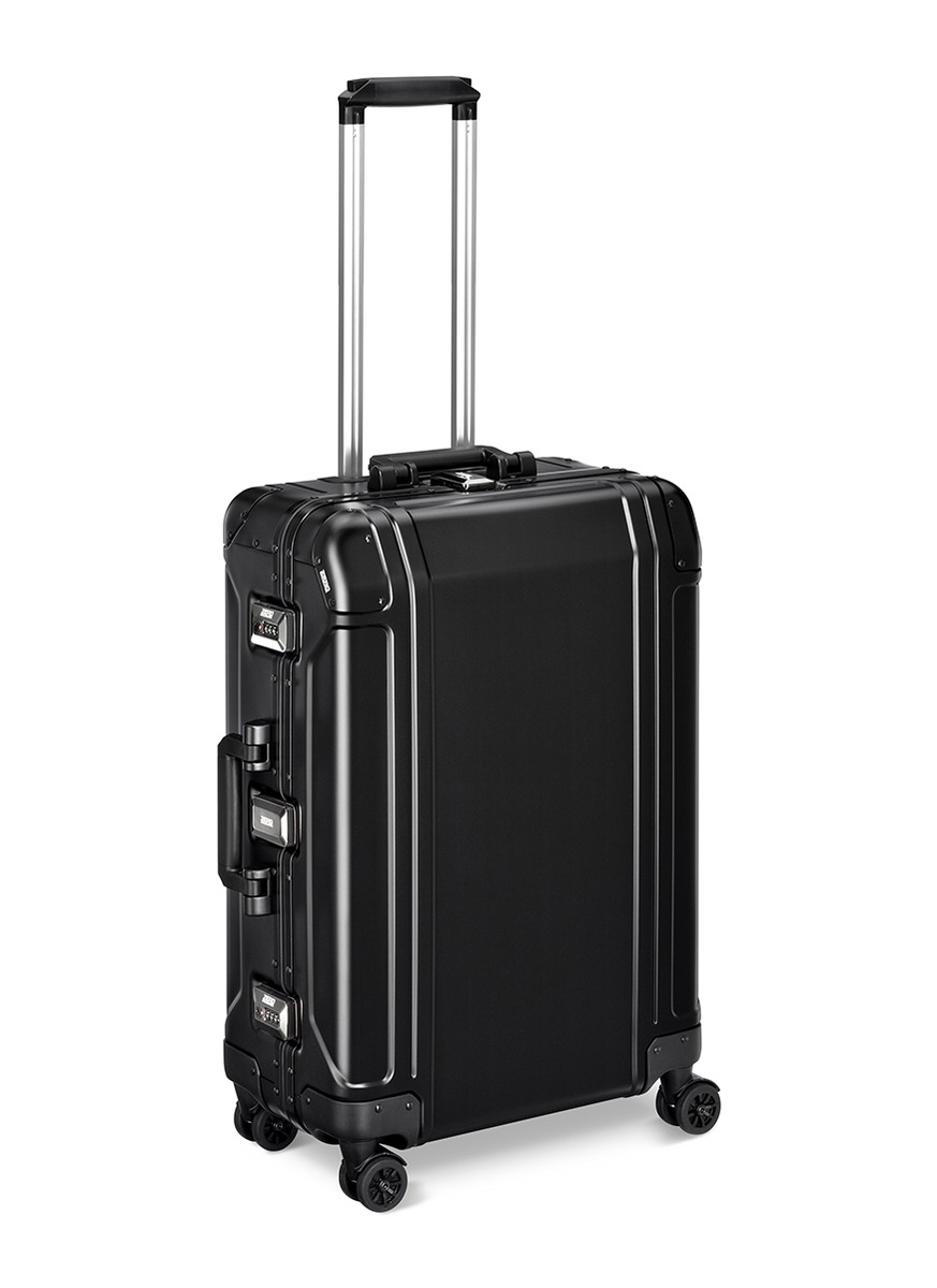 zero halliburton female geo aluminium 20 24 4wheel spinner suitcase