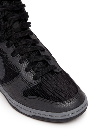 Detail View - Click To Enlarge - Nike - 'Dunk Sky Hi' concealed wedge sneakers
