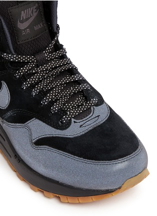Nike - 'Air Max 1 Mid Waterproof' suede sneakerboots
