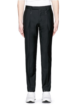 Maison Margiela - Studded virgin wool pants
