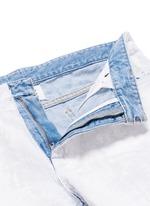 Chalk effect slim fit jeans