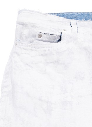 - Maison Margiela - Chalk effect slim fit jeans