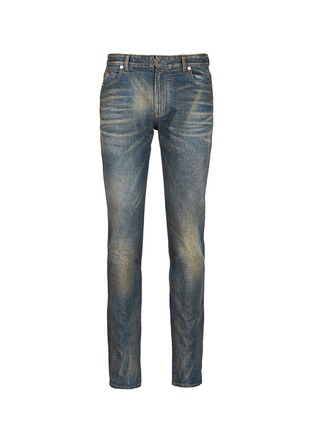 Main View - Click To Enlarge - Maison Margiela - Washed slim fit jeans