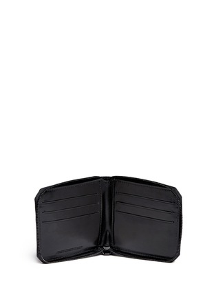 Figure View - Click To Enlarge - Alexander Wang  - Zip leather bifold wallet
