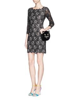DIANE VON FURSTENBERG'Zarita' lace dress