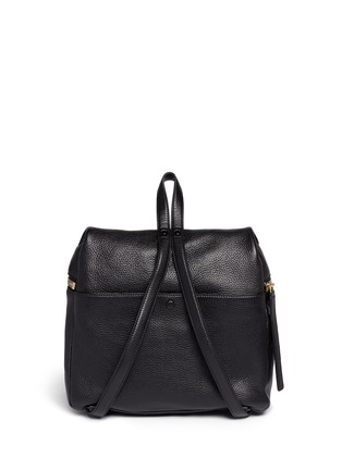 Back View - Click To Enlarge - Kara - Medium leather backpack