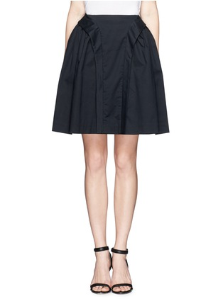 Main View - Click To Enlarge - McQ Alexander McQueen - Flare twill skirt