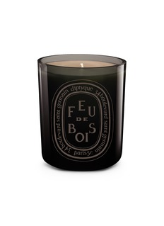 diptyque Feu de Bois Gris Scented Coloured Candle 300g