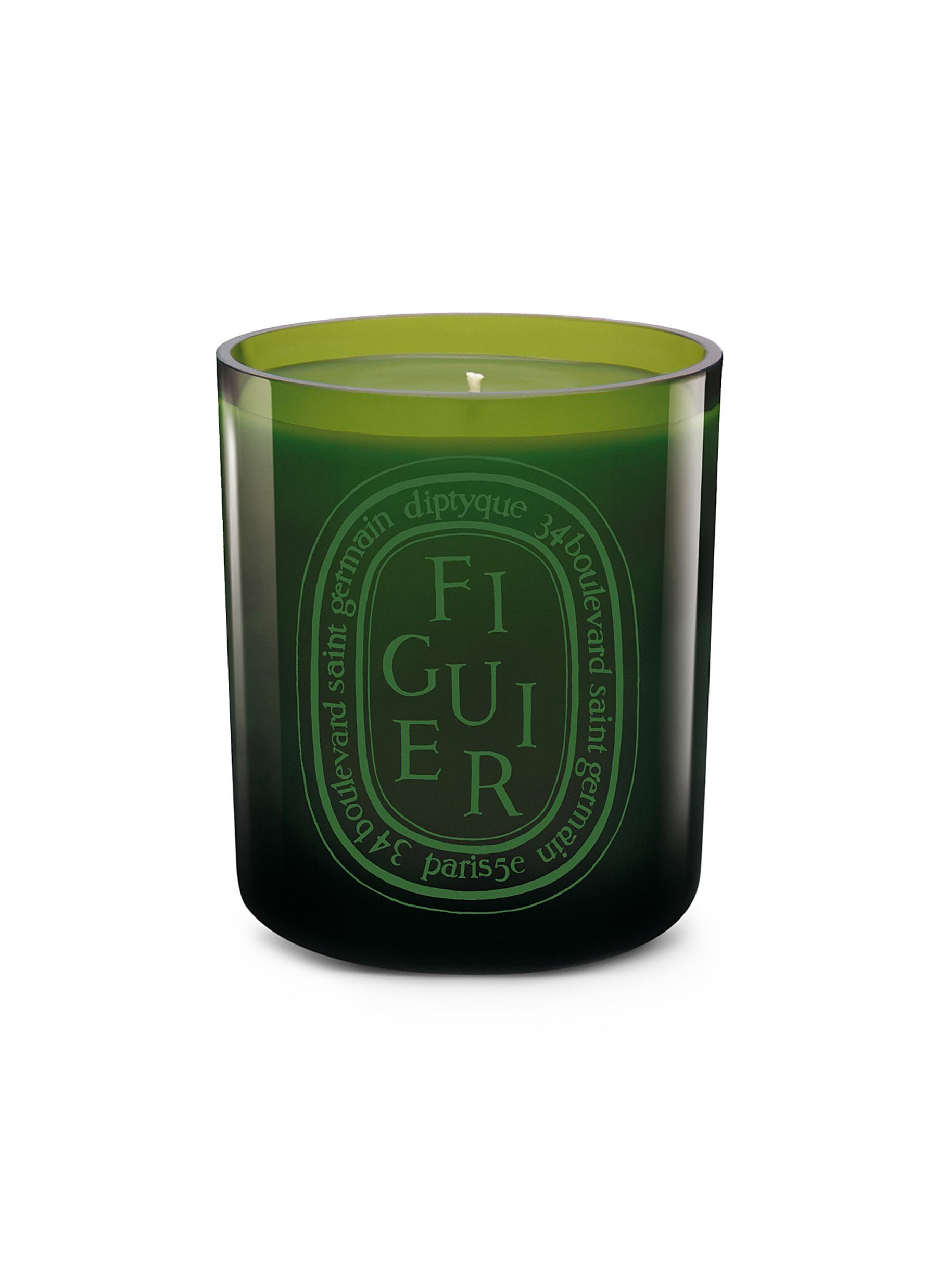 Figuier Verte Scented Coloured Candle 300g by diptyque