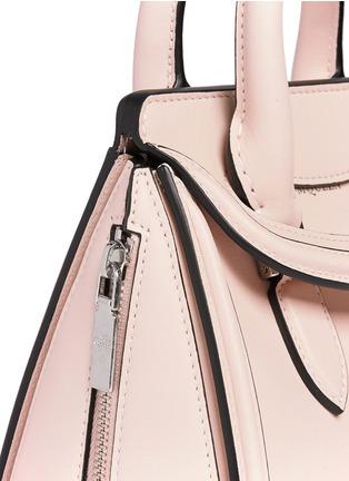 Detail View - Click To Enlarge - Alexander McQueen - 'Heroine' mini leather satchel