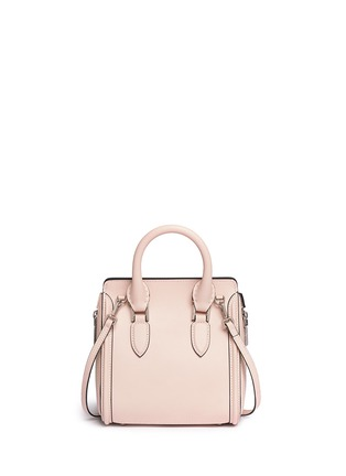 Back View - Click To Enlarge - Alexander McQueen - 'Heroine' mini leather satchel