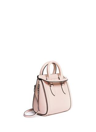 Front View - Click To Enlarge - Alexander McQueen - 'Heroine' mini leather satchel