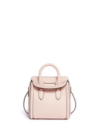 Main View - Click To Enlarge - Alexander McQueen - 'Heroine' mini leather satchel
