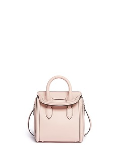 ALEXANDER MCQUEEN 'Heroine' mini leather satchel