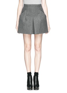 TOGA ARCHIVES Bonding wool boxy shorts