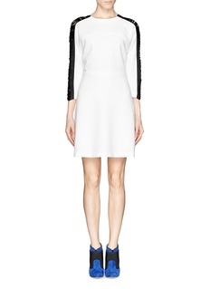 SANDRO 'Raphaelle' fringe sleeve dress
