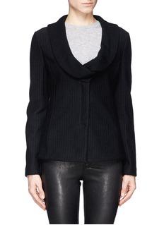 ARMANI COLLEZIONIShawl lapel knit jacket