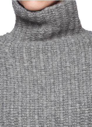 Detail View - Click To Enlarge - Haider Ackermann - Wool-camel turtleneck sweater