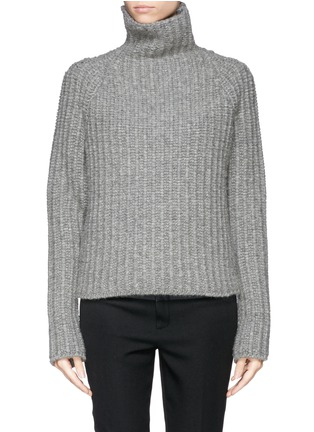 Main View - Click To Enlarge - Haider Ackermann - Wool-camel turtleneck sweater
