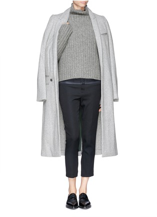 Figure View - Click To Enlarge - Haider Ackermann - Wool-camel turtleneck sweater