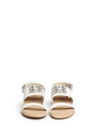 Figure View - Click To Enlarge - Michael Kors - 'Luna' leather flat sandals