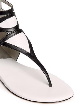 Detail View - Click To Enlarge - Michael Kors - 'Jaida' cutout leather sandals