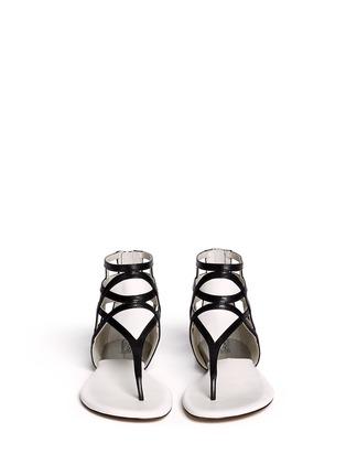 Figure View - Click To Enlarge - Michael Kors - 'Jaida' cutout leather sandals