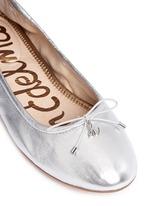 'Felicia' leather ballet flats