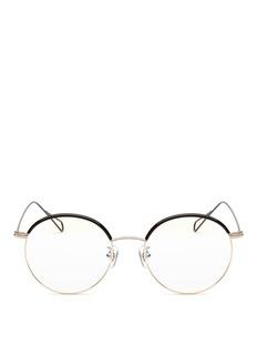 Stephane + Christian'Milli 01' coated metal wire rim optical glasses